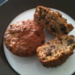 Cardamon and raisin muffin