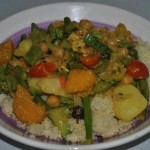Veggie curry with coconut milk