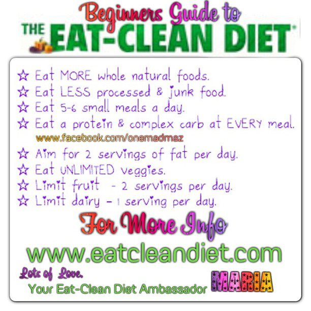 how to do clean eating diet
