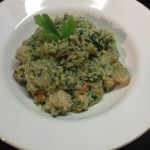 clean chicken risotto