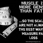 The scales are not the only way to measure fat loss