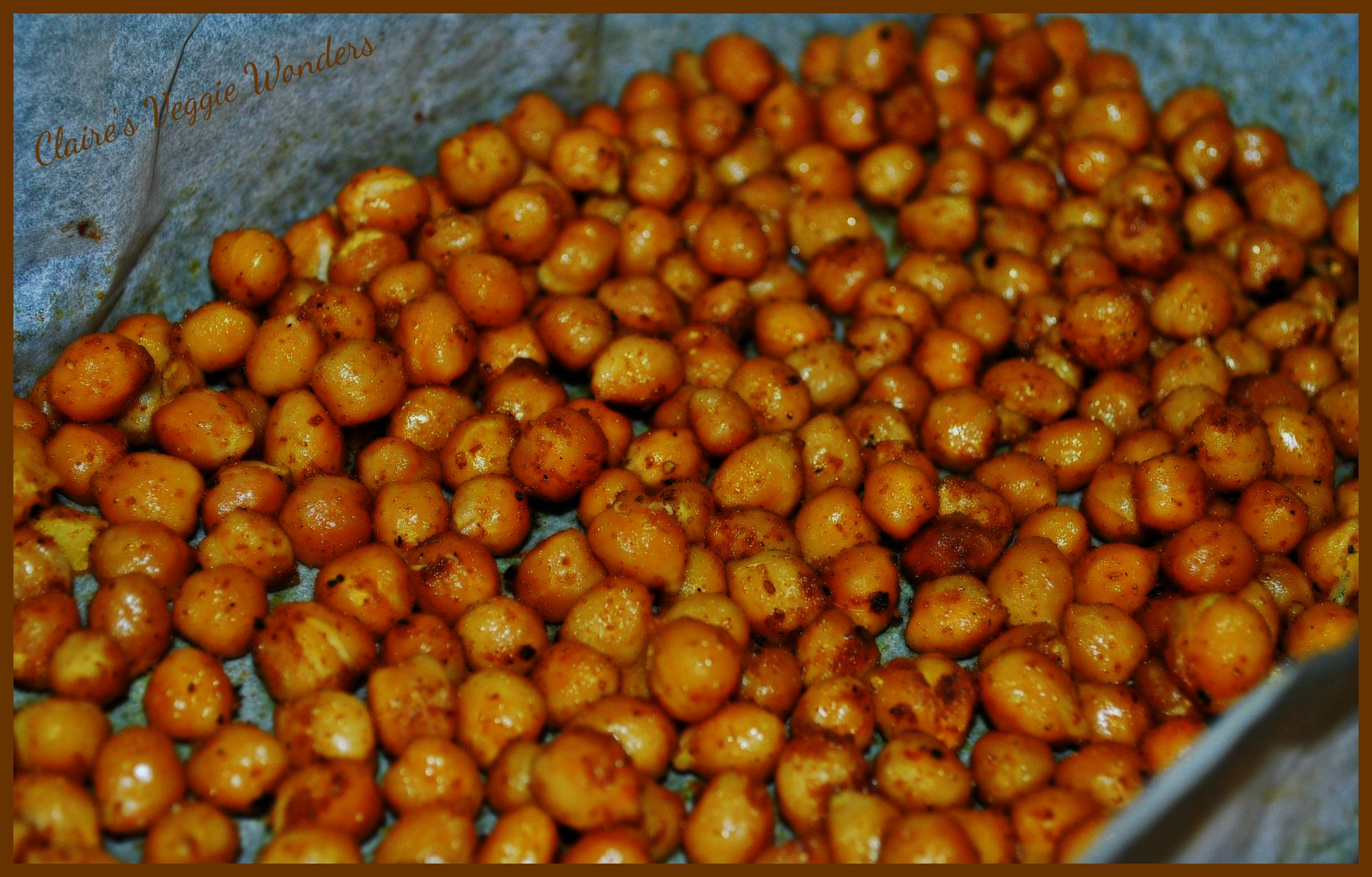 Meatless Monday - Spicy Oven Roasted Chickpeas - DrDietRight